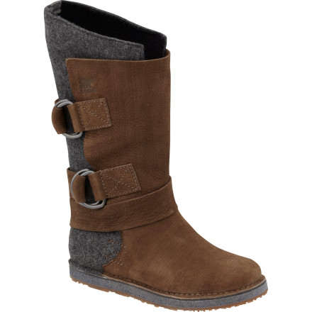 Entertainment Slide your feet into the Sorel Women's Chipahko Felt Boots, which combine total comfort with a sleek, fashionable look thanks to the warmth and gorgeous texture of classic wool felt. These boots will keep your feet feeling great and looking amazing as you shop Aspen boutiques or hobnob in a Jackson Hole lodge. - $119.97