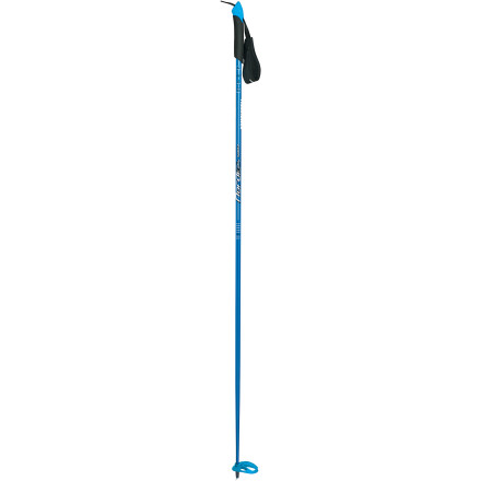 Ski The Komperdell Nordic Adventure Cross Country Ski Pole moves you off track and into pristine wilderness areas. Designed to efficiently transfer power with each pole plant, the Nordic Adventure blends a stiff aluminum shaft with a versatile BC Nordic basket for supreme performance over rolling hills and flat meadows. - $69.95