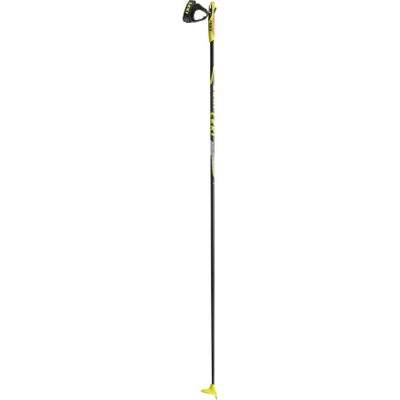 Ski Set out for the deepest glades and untraveled paths on with Leki's Sport Carbon XC Ski Pole. Leki's Trigger grips and hand wraps detach in the event of a fall, protecting your arms and shoulders. - $139.96