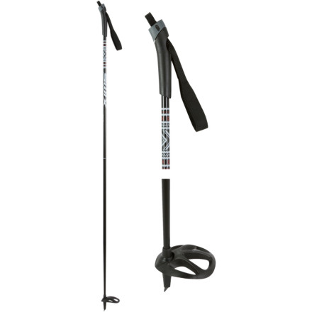 Ski Take hold of the Swix Tour Ski Poles and cruise groomed trails. Youll be set to ski with these sturdy, mid-stiff, and light poles. Large racing baskets dont punch through the snow, and the plastic touring handles simplicity will yield many days of winter fun. - $17.48