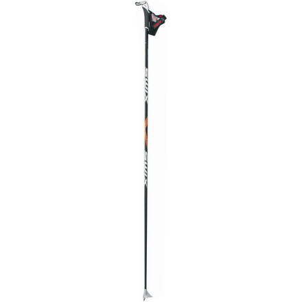 Ski Tough enough for daily workouts but light and high-performance enough for racing, the Swix Comp Performance Carbon Composite Ski Pole is the only one you'll need this winter. Appropriate for both classic cross-country and skate-skiing, this pole offers impressive strength, stiffness, and light weight. - $52.46