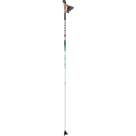 Ski When you head to the local Nordic track for a few quick laps after work, push off with the Swix Pro Light Ski Pole. The poles provide lightweight and durable performance with a reinforced aluminum shaft and a track specific basket, but the feature that really stands out is the innovative Just Click strap system. When your phone starts to buzz or you need to blow your nose, quickly release from the poles without having to take off the straps, and just click back in when you're ready to go. - $69.95