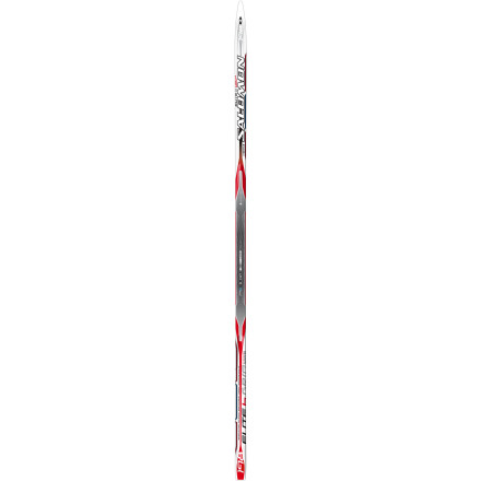 Ski Kick and glide with speed and stability, easy-peasy, on the light and dynamic Salomon Elite 6 Grip Ski. With grippy double-patterned base and heel-toe camber, you enjoy the best of your track-lined world; the easy-turning sidecut with stable forefoot is your co-pilot. All aboard. - $97.47
