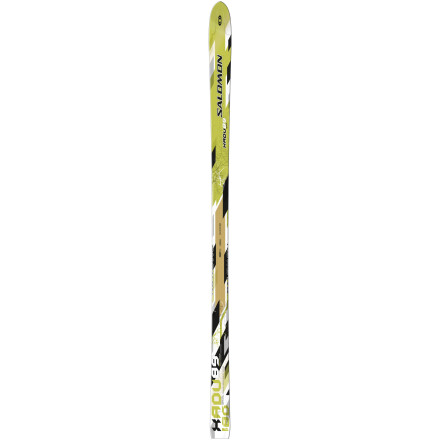 Ski Go backcountry, and back to nature on the made-for-adventure Salomon XADV 89 Grip Ski. Away from the crowds, away from the noise, ride the wide 60-millimeter waist into the woods and over the hills. Break some trails, make some turns, gain some speed, and breathe in the fresh air as you ascend for more. - $188.47