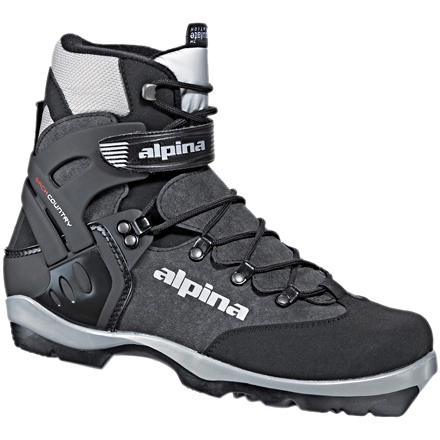 Ski The Alpina BC 1550 NNN BC backcountry boot has the features you need for a full day of comfortable backcountry touring. Alpina's Thinsulate-lined upper keeps your feet warm and dry. The BC 1550's wraparound plastic cuff allows for full range of motion but provides great stability and the control you need to push your cross-country skis through deep snow. This boot's sole flexes in the toe but is torsionally rigid for steep descents. The Alpina BC 1550 is only compatible with the NNN BC binding. - $119.25