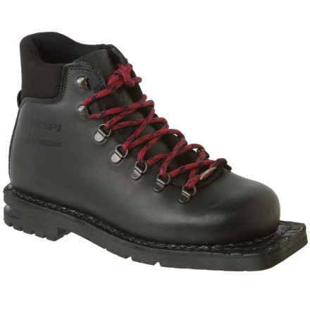 Ski Whether you're a nostalgic pin-head, or a fledgling knee-dropper, Crispi's classic Mountain Boot offers tried-and-true comfort and performance for the explorer in you. A classic leather upper offers plenty of range of motion. - $160.30