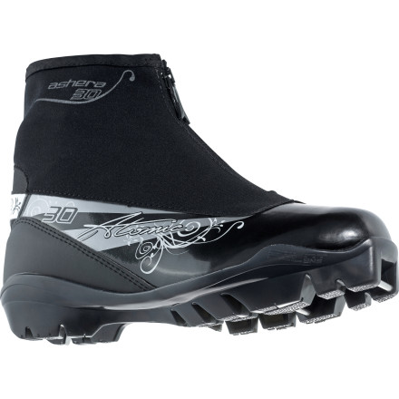 Ski The Atomic Ashera 30 Classic Boot delivers a balanced combination of comfort and performance in a women-specific design that's ready for either a tour through the town woods or several laps around your local track. - $87.72