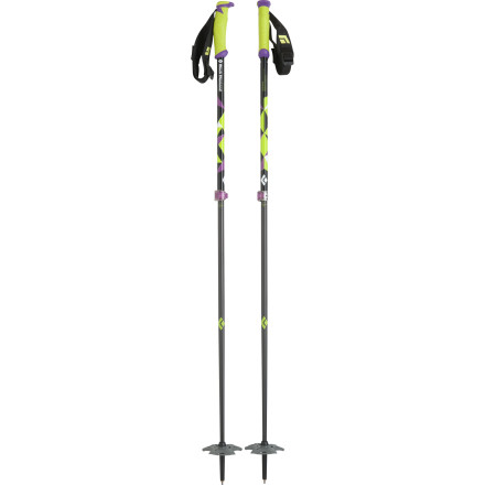 Ski Black Diamond's adjustable-length Carbon Probe Ski Pole pulls double duty by serving as a big-mountain ski pole and as an avalanche probe (the super-light, stiff lower shafts can screw together to form the probe). Drop into heavy lines with all the support you need, and, in case things turn extraordinarily heavy with an avalanche, you can feel good knowing that you have a probe immediately in hand. - $77.97