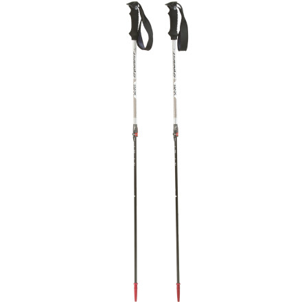 Ski Just as important and supportive on the uphill as the downhill, the Dynafit Se7en Summits Carbon-Titanal Backcountry Ski Pole adjusts to your height and terrain choice while remaining ultra-light for long tours. This versatile, height-adjustable backcountry ski pole is lightweight for long tours into the wilderness and strong enough for the biggest descents once you get there. - $97.46