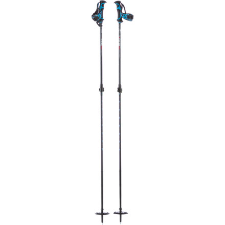 Ski Half your avalanche safety kit is already built into the design of the K2 LockJaw Adjustable Carbon/Aluminum Probe Pole. From the tough-but-lightweight shaft to the built-in inclinometer, this pole was designed for the dedicated backcountry skier. You want this pole if you're into dawn, dusk, or powder patrols far away from the help of ski patrol. - $104.96