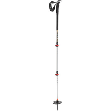 Ski Outfitted for long tours and variable terrain, Leki's lightweight, adjustable Aergon III SpeedLock Ski Pole wants in on this season's dawn patrol schedule. Leki's speedlock system adjusts in a flash and the removable baskets make customization easy as pie. - $118.96