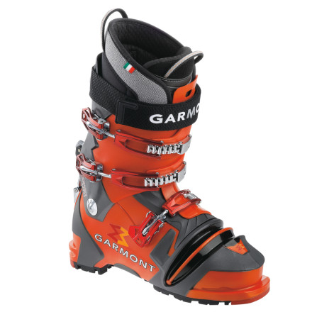 Ski In 2010 the Garmont Mens Prophet NTN Thermo Boot won so many awards that weve lost count. Its basically a free-heelers wet dream thanks to its sweet forward flex, alpine-like torsional rigidity and support, rounded toe for easy walking and scrambling, easy binding entry, and free-pivot touring mode. The Prophet also delivers the responsiveness that you desire when you arc down the mountain, and its Rabid Thermo liners custom mold to your feet. - $447.97