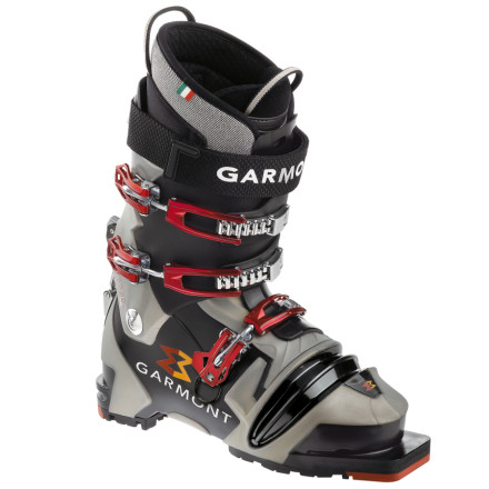 Ski You may wonder if Garmont cast a spell over the Mens Voodoo Thermo Boot, but alas they just used multiple injections to reinforce the lower shell to create a badass tele boot with the stiffness of an alpine boot. - $479.96
