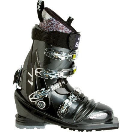 Ski If you split your tele time between challenging backcountry terrain and high-speed resort lines, you need a versatile and dependable boot. Slip your feet into the time-tested, Italian-crafted Scarpa T1 Telemark Boots and bask in the comfort and power they offer. You just might take your game a few notches higher this year. - $698.95