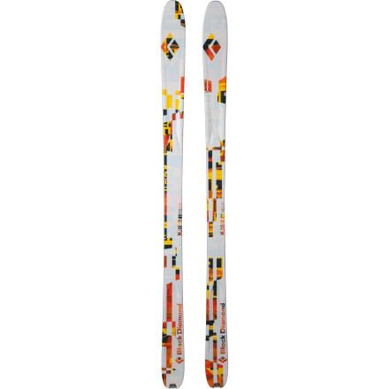 Ski At 86mm at the waist, the Current Ski might seem a little skinny for the powder, but the rockered tip and tail make this one of the most versatile all-mountain touring skis that Black Diamond offers. Powerful sandwich construction and an aggressive sidecut ensure laser-precise turning, and the lively wood core lets you snap turns quickly through tight, technical terrain. This is a highly versatile and stable ride that was purpose-built for skinning deep into the backcountry and enjoying the descent whether you're a seasoned veteran of winter or a greenhorn just learning the ropes. - $329.45