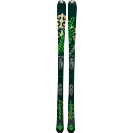 Ski The Dynafit Broad Peak Touring Ski doesnt wear you out on the uphill so youre ready to slash some turns after youve reached the summit. Made from Isocore paulownia ultralight wood with beech and bamboo stringers, this lightweight ski tackles everything from glossy plates of ice to crusty snow, from spring corn to compact, powdery snow. - $487.46