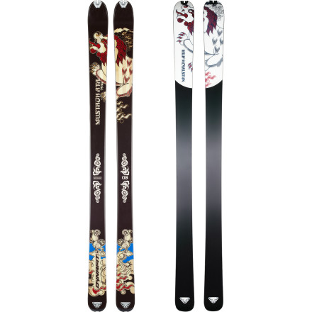 Ski Ski touring and weight-lifting don't mix. On the Dynafit Mustagh ATA Superlight Ski, you can save your energy for another high-speed lap or three. And a versatile, 88mm waist and raised tip let you exercise your newfound efficiency in any conditions. - $377.97