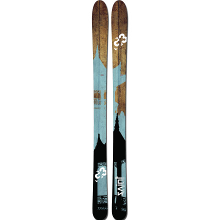 Ski Crush the uphill and blaze the downhill with the G3 Saint Ski. For those who like to get away from the resort crowds, but love to ride the empty mid-week lifts let the Saint tempt you with its lightweight wood core, stability in variable conditions, all-mountain width, and responsiveness in dicey terrain. - $475.97