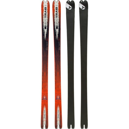 Ski Designed to be exceptionally light but still deliver plenty of float in the powder, the Ski Trab Freerando Light Ski is a versatile backcountry machine. Whether you mount it with tele or AT bindings, this feather-weight plank will help you get above tree line in no time. - $599.21