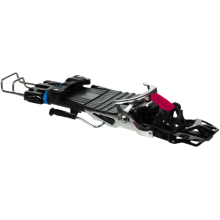 Ski The lightweight Scarpa NTN Freedom Binding blazes uphill and bombs down. With wide-degree walk mode and two climbing-wire sizes, the Freedom loves to hike; with standard 110mm brake width for fat skis, it rips through untracked terrain. Free your heel and fuel the freshie obsession. - $322.46