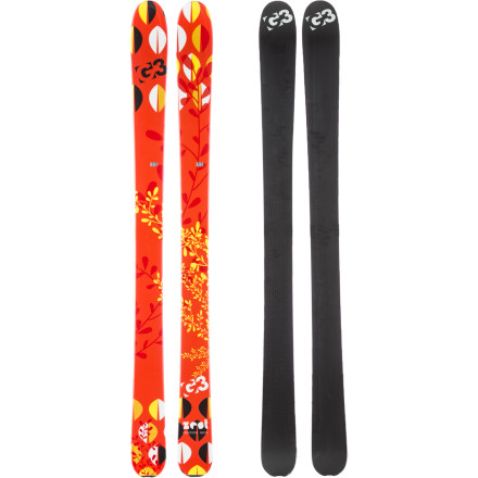 Ski If you're the type of gal who rarely sticks to skiing just groomers, wait until you get a load of G3's award-winning Zest Ski. This lightweight ski enables you to speed down chalky leftovers and groomers and float down fluff like an accomplished all-mountain ski diva. Its Early Rise 2.5 profile and 100mm waist give you the versatility to explore the backcountry, sidecountry, and everything your favorite resort has to offer no matter what the condition. - $419.97