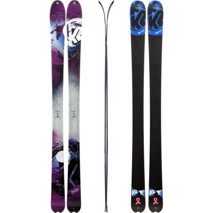 Ski Even though it hasn't snowed in days, there's still some fluff to be found with the K2 Women's BrightSide Ski. With its All-Terrain Rocker profile, 90mm waist, and TNC construction, this happy-go-lucky ski has no problem floating on top of small powder stashes, navigating through tight trees, slicing through crud, and charging down steep, firm snow. Designed to excel in both firm and soft snow conditions, the BrightSide makes every day a stellar ski day. - $389.97