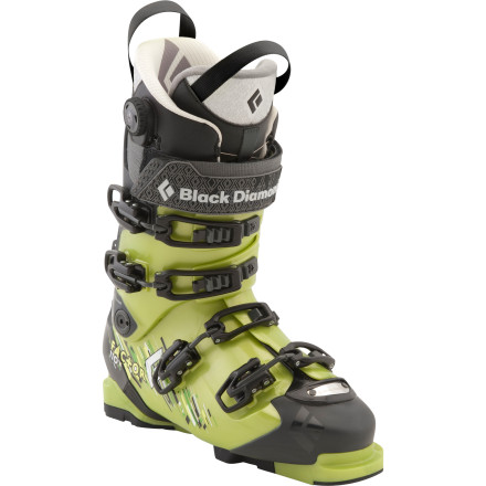 Ski Freeride skiers looking for the legendary performance of Black Diamond's Factor platform but with a slightly softer flex, prepare to get giddy; the Factor 110 Alpine Touring Boot is officially here. Part of Black Diamond's Freeride Power Series, this boot is designed to provide plenty of response and all-day comfort both in bounds and out. - $419.40