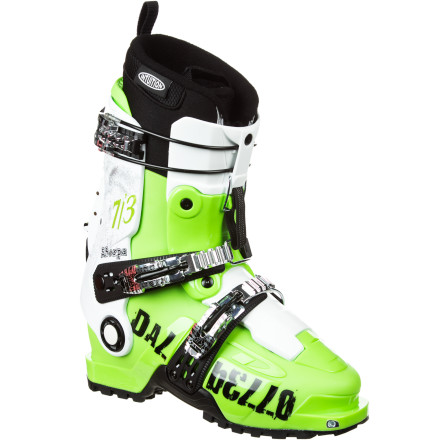 Ski While the Dalbello Sherpa 7/3 I.D. Alpine Touring Boot probably won't guide you up Everest, it is a lightweight, sure-footed, sophisticated, piece of equipment that will meet just about every alpine touring need. It has a low cuff hinge, double-hinged tongue for smooth ascent motion, and a lugged Vibram sole that make your big-mountain hike feel like a walk in the park. A rearfoot retention system and 100 flex keep you in an aggressive position on the descent. Maybe, the Dalbello Sherpa isn't so shabby a guide, after all. - $454.97