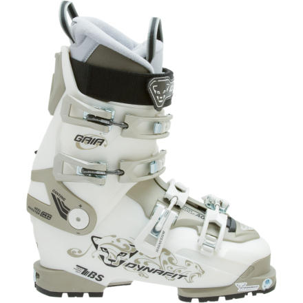 Ski If Dynafit had made boots back in ancient-Greek times, Athena probably would have leapt out of Zeus head wearing the Womens Gaia TF-X Ski Boot. Full body armor and warfare can wait when theres virgin pow to shred. - $401.97