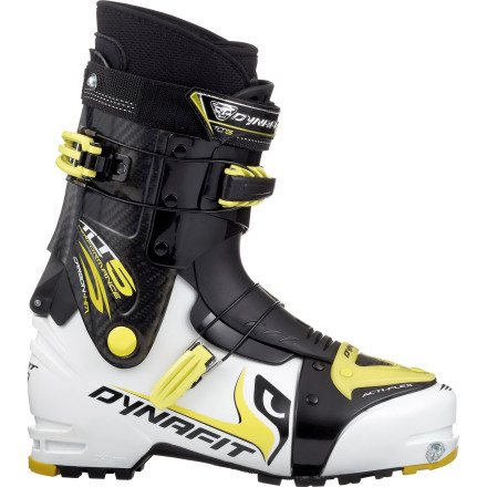 Ski Thanks to the super-light weight and smooth flex, the Dynafit TLT 5 Performance TF Alpine Touring Boot glides in the high altitude of the Himalayas and in the slightly lower altitude of your local rando races. - $599.97