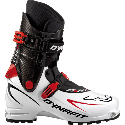 Ski If you crave record-breaking times on the skin track and solid performance on the ski down, the race-ready Dynafit Dy. N.A. Evo Ski Boot could be your ticket to faster 5000-foot days and a shelf full of rando-race trophies. Thanks to this race-touring boot's progressive rocker shape and thin, lightweight shell, you can make the alpine your Indy and stride more efficiently and comfortably than ever before. - $1,019.97