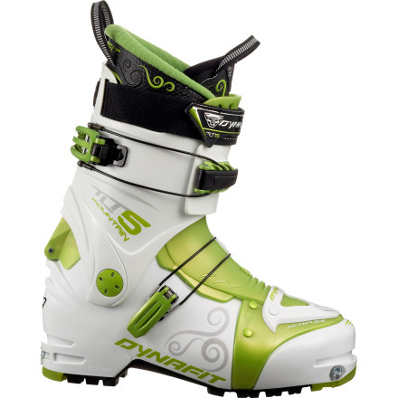 Ski You'll be tempted to motor up the hill and mach back down on repeat in the Dynafit Women's TLT5 Mountain TF-X Alpine Touring Boot. It's light and speedy on both long-distance and short-and-fast climbs and tough enough for technical, steep descents and all-out downhill bombs. You'll have plenty of time to take in the beauty of the mountains, eat snacks and hydrate, and wait for your ski buddies. They are right behind you, aren't they' - $449.97