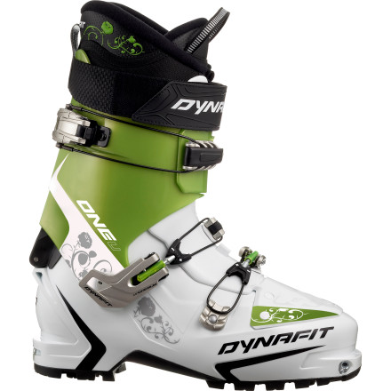 Ski Why choose between performance and weight, when the Dynafit One U - TF Alpine Touring Boot offers you PU flex at Pebax pounds' You don't want to be weighed down and fatigued on the climb, because you have serious ripping to do on the descent, and for that, performance is paramount. Add to the list a grippy sole and breezy walk mode, and, see' You can have it all. - $417.87
