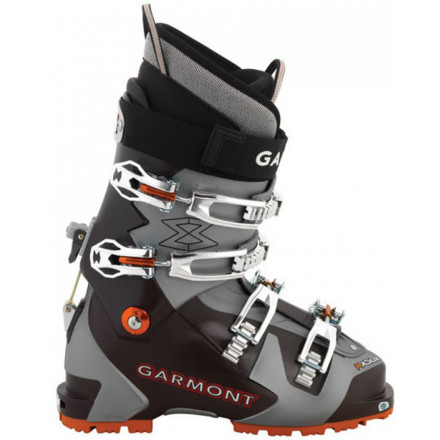 Ski With the Garmont Radium Thermo Alpine Touring Boot, you can zip to the top of the best backcountry lines and have the performance of your burliest alpine boots when you attack the descent. The EZ Fit liner is comfy right out of the box and can be thermo-formed for further customization while the unique overlap shell design works with the Bomber Walk mechanism for ultra-efficient hiking and touring. - $489.97