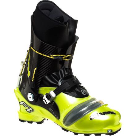 Ski For the ultimate in skin-track performance, step into the Scarpa F1 Carbon Alpine Touring Boot and maximize your number of laps. A host of weight-saving features including a carbon cuff keep your steps featherlight, and the unique two-buckle ratcheting system delivers precise micro adjustments without going overboard. - $1,019.37