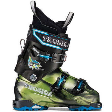 Ski With the same standout character traits as other members of this tribe, the Tecnica Cochise Pro Light Alpine Touring Boot is built to run light and fast deep in the backcountry. The stiff 120 flex shreds cornices and couloirs while the ultra lightweight Triax shell and Mobility Cuff System allow you to get there without utter exhaustion. The Cochise Pro Light is the featherweight AT boot of choice for your backcountry quests. - $599.96