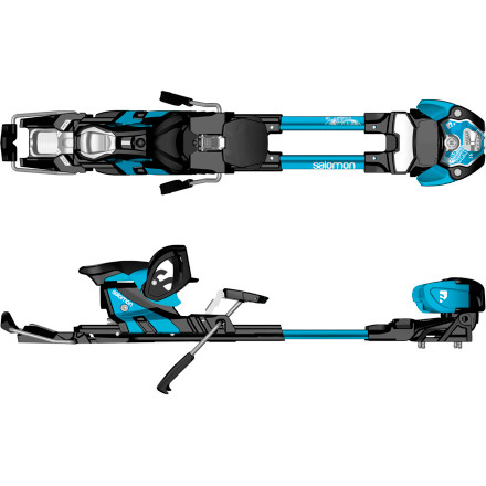 Ski Why fight the resort crowds when Salomon offers an easy, comfortable way for you to travel out the sidecountry gates or into the backcountry with the Guardian 16 Alpine Touring Binding' Hike-and-Ride technology lets you glide up the skintrack in hike mode and switch quickly into ride mode without removing your skis, and Salomon gave the Guardian a 7-16 DIN range for skiers who like to go fast, stomp airs, and send big-mountain lines. - $449.99