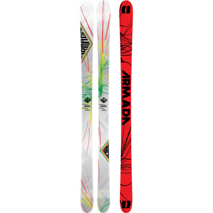 Ski Smooth the bass line in a reggae jam and poppy like a can of soda filled with C4, the THall ski is the premier choice for the park. Full traditional camber gives you precise control underfoot and the soft tip and tail keep the ride loose enough so you can press and smear on a whim. This ski is tough, and CK stringers in the tail give it an extra hit of durability. It's been dubbed the THall because it's Tanner Hall's pro model ski, and that means it flows through the park like none other. - $357.47