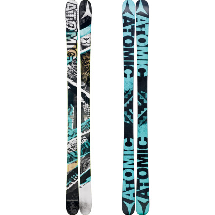 Ski The fully symmetrical Atomic Punx Ski has made a name for itself among the best park and pipe riders in the world (Jossi Wells, Andreas Hatveit, and Elias Amb 1/4hl rode the Punx in the X Games). Designed with an Active Camber for full-contact edge grip in icy conditions and a Resist Edge that will withstand pounding rail sessions, the Punx is ready to add a gang of tricks to your repertoire. Some folks say you're just a punk in the park, but you know better you're an artist in the air. - $337.49