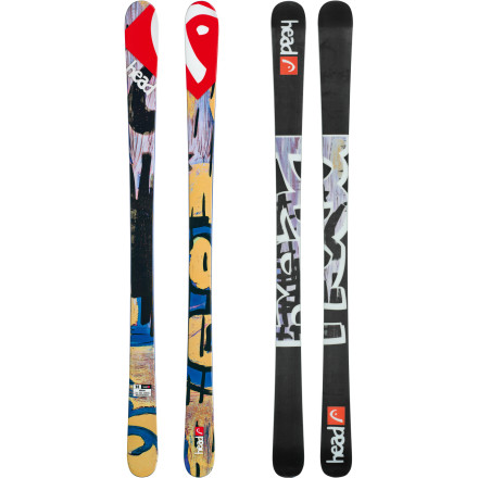 Ski The park-and-pipe Head Oblivion Ski lives in its own world. An alternate universe that spins and flips upside-down and is filled with pow and kickers. With a fluff-hungry 132mm tip and poppy twin-tip rocker, lucky for you it just doesn't know any better. - $374.21