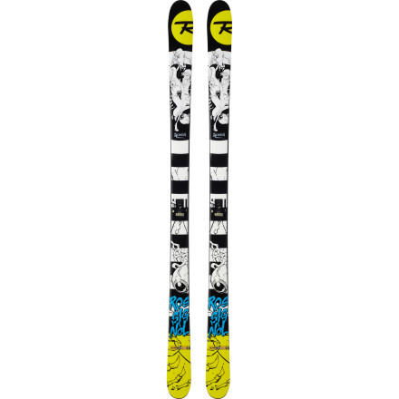 Ski That rail has been haunting your dreams all summer and fall. You know the one; that elevated S rail that you spent all winter working up the nerve to attempt, and, once you did, it totally owned you. Now you're itching to set the record straight, and the Rossignol Scratch Ski is the only tool with the shape and features that can reach your problem area and soothe the burn. - $349.97