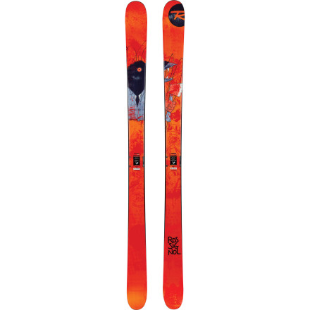 Ski The Rossignol Storm Ski is a traditionally shaped and cambered park and pipe ski built to perform far outside the realm of the traditional. The Jib Tip profile makes switch tricks a walk in the park while the Extended Sidecut improves edge grip and control as your speed increases. As an added bonus, if you have a tender place in your heart for angry clown-themed bands, the graphics are going to tickle you pink. - $324.97