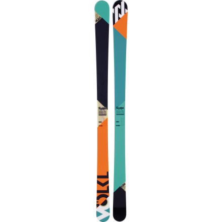 Ski It's unavoidable, the abuse you subject your ski to in the park and pipe, but the Volkl Kink Ski is prepared. It has a stable width, hardcore construction, and camber that rebounds, so you can ride rail, overshoot, undershoot, and stomp hard, and it will merely appreciate the effort. - $374.25
