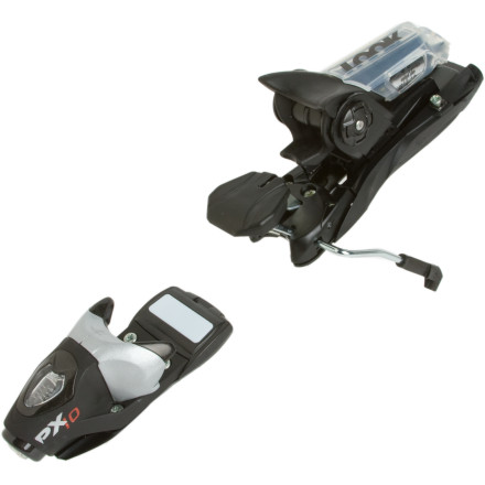 Ski Creating a powerful and dependable platform for intermediate skiers looking to up their game on the hill, the 10-DIN Dynastar PX 10 Wide Binding hangs on the on the toughest terrain. Wide brakes fit over fat skis. - $125.97