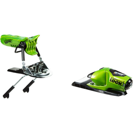 Ski Step up your game with the Look Pivot 14 Ski Binding. Thanks to its broad DIN range, the Pivot hangs in for the ride instead of prematurely copping out and sending you flying head over heels over a cliff. - $329.95