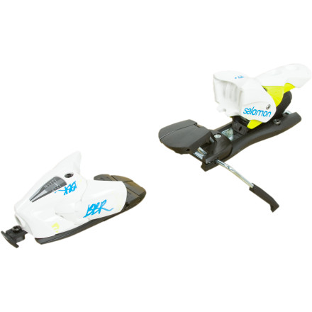 Ski Attach the Salomon Z12 BBR Ski Binding to your Salomon BBR Ski (sold separately), and you have a match made in heaven. This lightweight binding helps the ski to flex and only releases when you need it to. - $127.99
