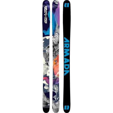 Ski The Armada TST Ski has an all-mountain profile with a rockered tip for deep Sierra pow, razor-like edge hold for carving up the East, and dimensions to eat up everything in-between. Did somebody say road trip' - $454.97