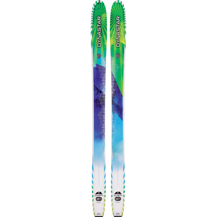 Ski You don't want to have to amass two dozen pairs of skis, but big mountains and bigger lines require a special ski if you want to run a quiver of one. The new Dynastar Cham 107 Ski is your ticket to happily crushing the steeps day in and day out. The unique Levitation Profile is aggressively rockered in the tip for effortless float, while a classic camber underfoot extending into a flat pintail enables you to work with hardpack like Michelangelo with a piece of marble. The whole mountain is your media, go make something beautiful. - $749.95