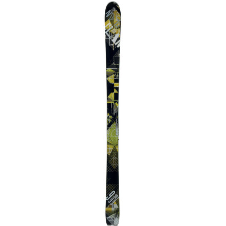 Ski For all-day slaying that begins with early-morning fresh tracks and ends with crud-busting runs in the last light of the day, mount up the Elan 999 ALU Alpine Ski. The Thin Aluminum Profile and Mountain Rocker float you in the fluff, a slight camber underfoot trenches out icy groomers after all the goods have been had, and the lightweight, durable design leaves you with enough energy to dominate techy terrain all the way into the sunset. - $454.97