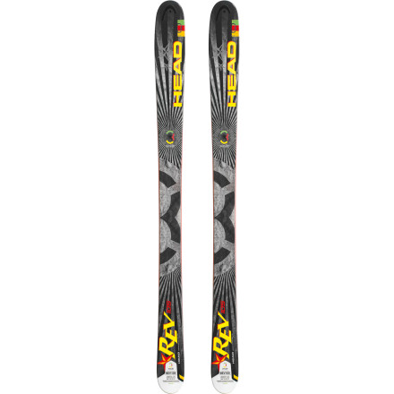 Ski You don't need an easy-turning ski or help in the pow, but don't ask and ye shall receive anyway; the superfast, rip-ready Head Rev 105 Ski gives you progressive sidecut and targeted rocker for more effortless shredfests. Because there's no rule against ripping harder, longer, or faster (but keep an eye out for patrol just in case). - $524.21